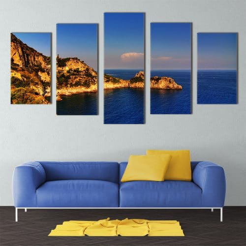 Amalfi Coast - Beautiful Home Décor | Unique Canvas