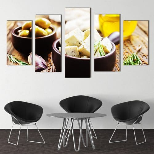 Cheese & Olives - Beautiful Home Décor | Unique Canvas