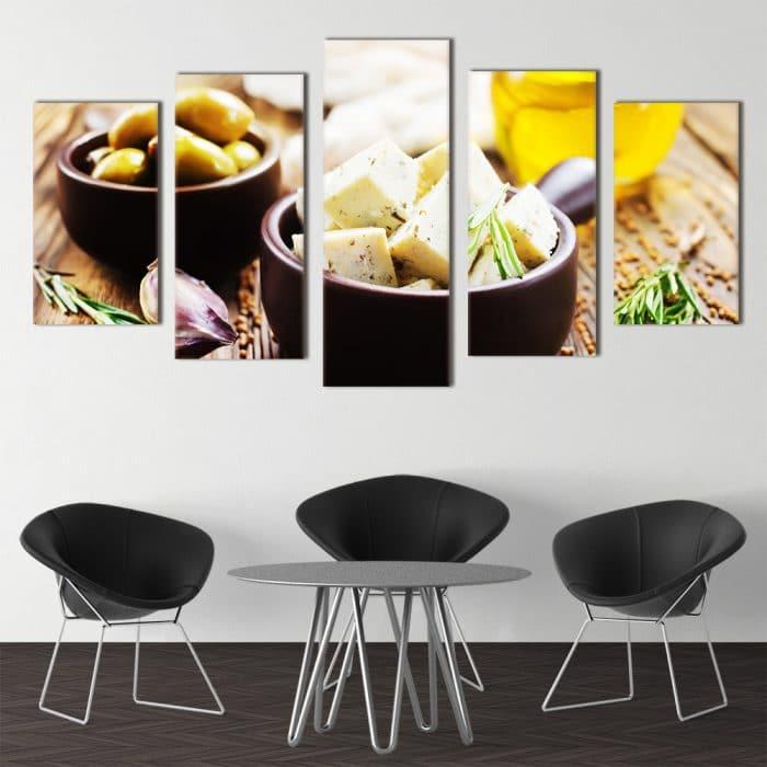 Cheese & Olives - Beautiful Home Décor | Unique Canvas