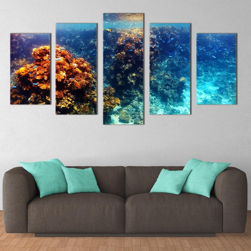 Coral Reef - Beautiful Home Décor | Unique Canvas