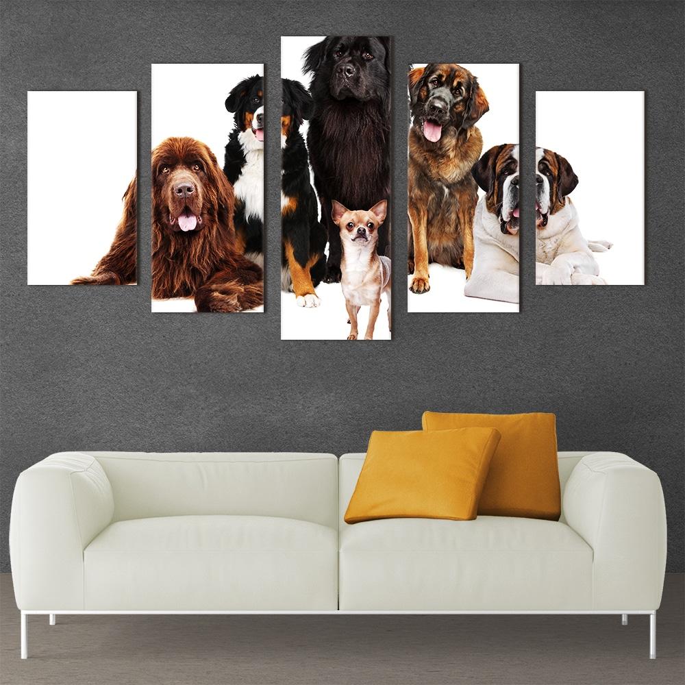 Dogs Galore - Beautiful Home Décor | Unique Canvas