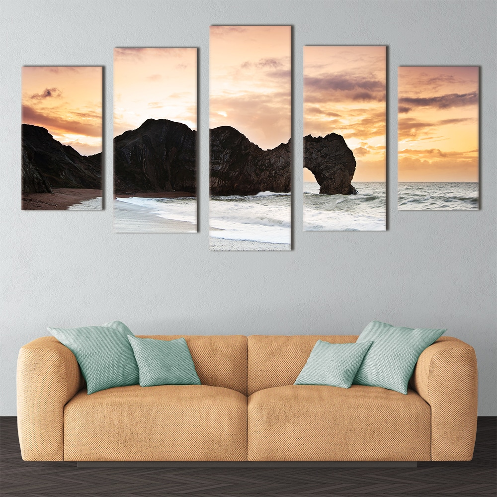 Durdle Door by Sunset - Beautiful Home Décor | Unique Canvas