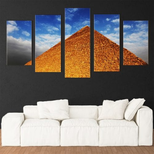 Egyptian Pyramid - Beautiful Home Décor | Unique Canvas