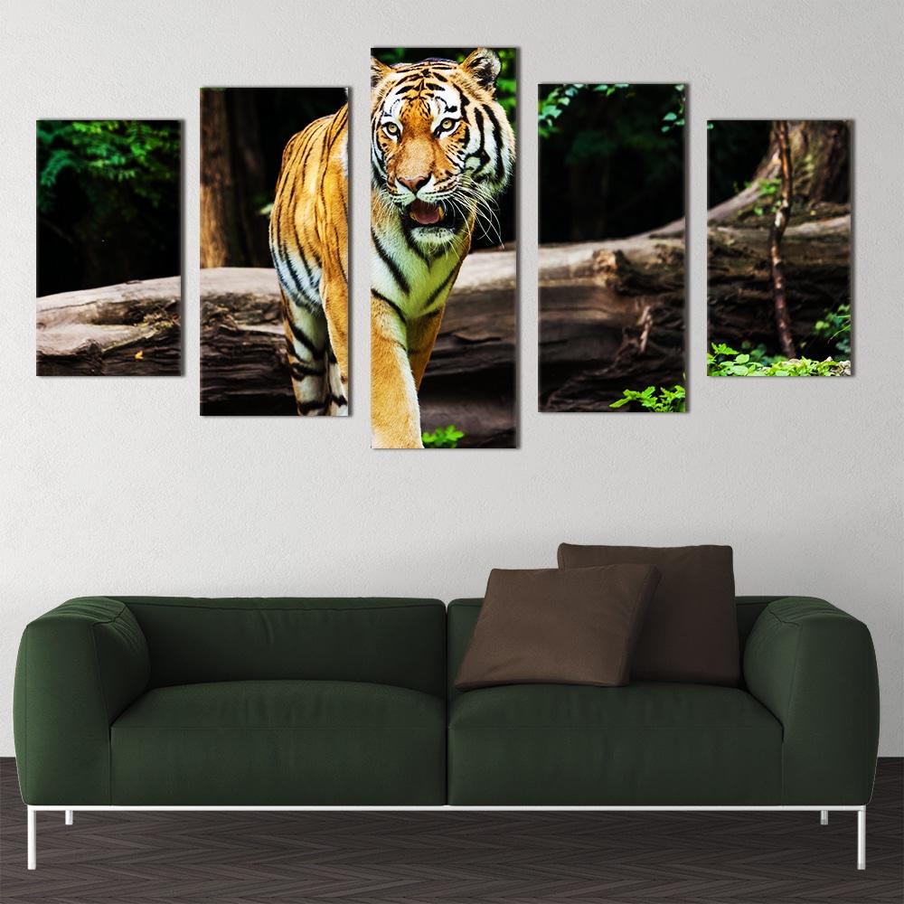 Fierce Tiger - Beautiful Home Décor | Unique Canvas