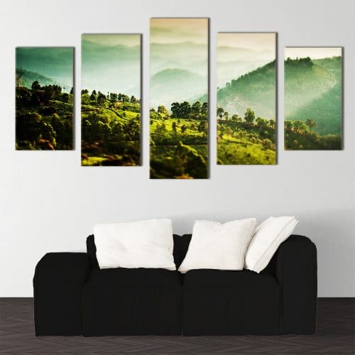 Kerala Tea Plantations - Beautiful Home Décor | Unique Canvas