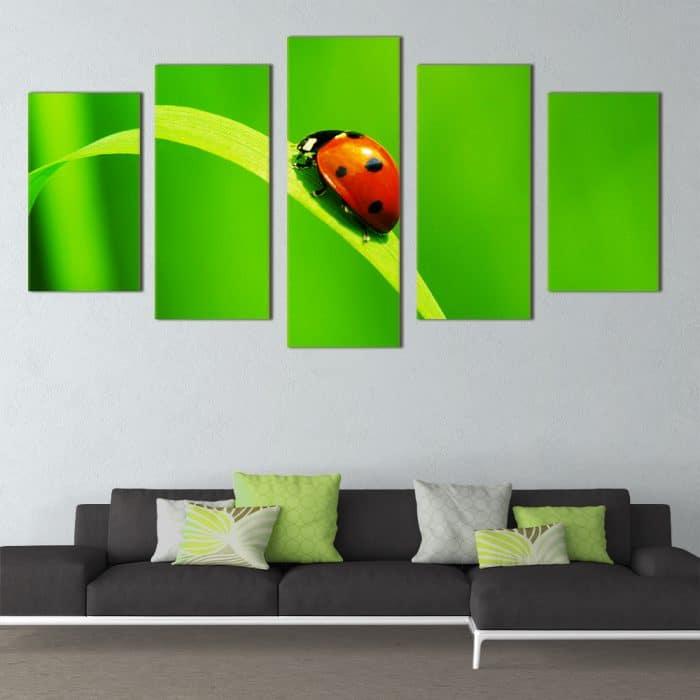 Ladybug - Beautiful Home Décor | Unique Canvas