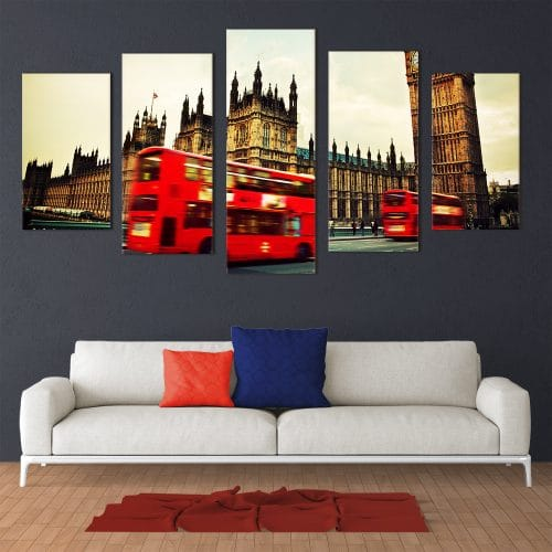 London Buses - Beautiful Home Décor | Unique Canvas