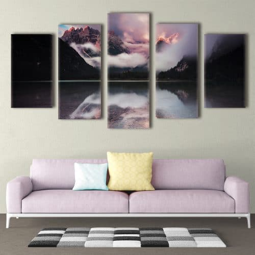 Mystical Alps - Beautiful Home Décor | Unique Canvas
