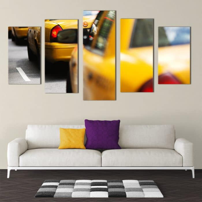 NYC Taxis - Beautiful Home Décor | Unique Canvas