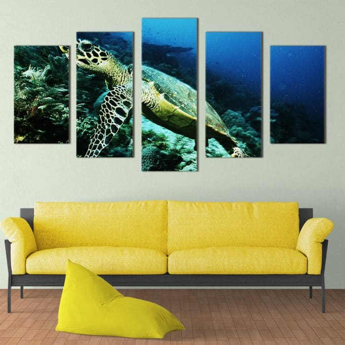 Sea Turtle- Beautiful Home Décor | Unique Canvas
