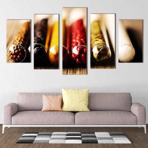 Spice Bottles- Beautiful Home Décor | Unique Canvas