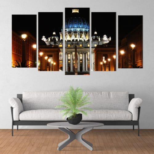 St Peter's Square - Beautiful Home Décor | Unique Canvas