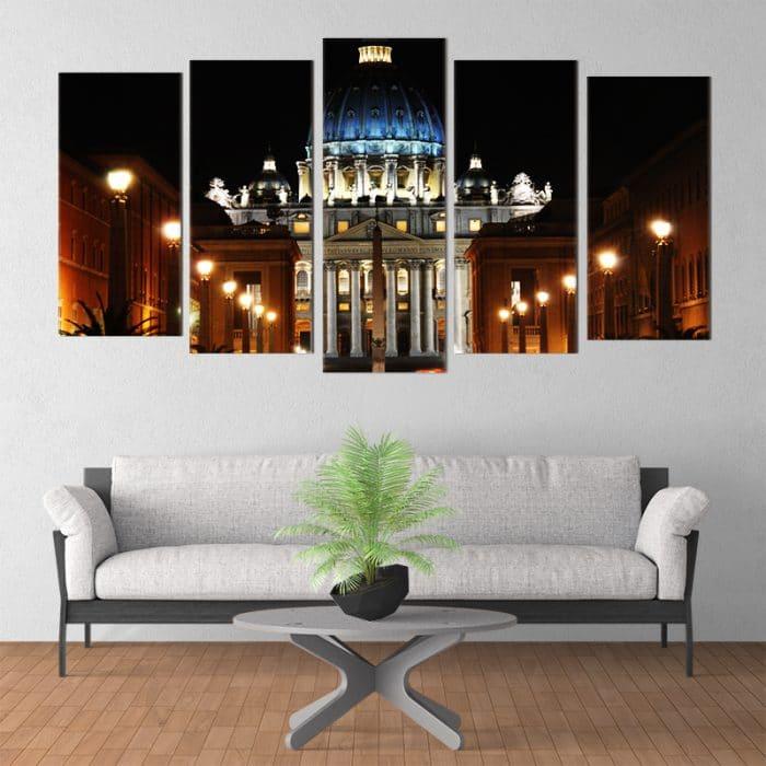 St Peter's Square - Beautiful Home Décor | Unique Canvas