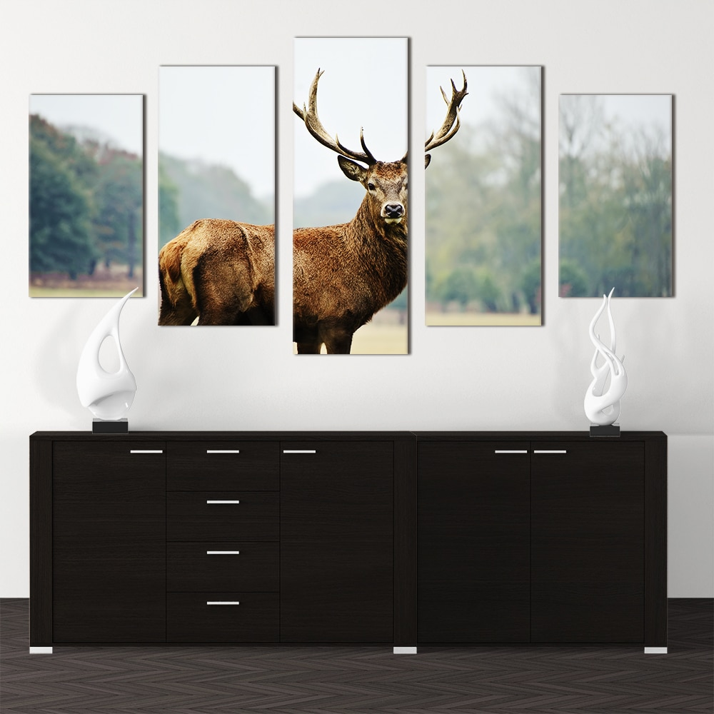 Staring Stag - Beautiful Home Décor | Unique Canvas