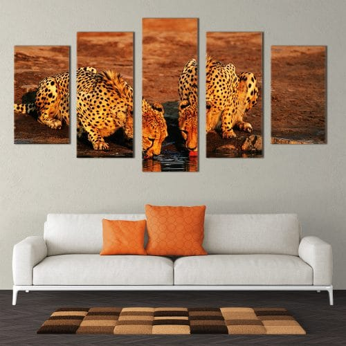 Thirsty Cheetahs - Beautiful Home Décor | Unique Canvas