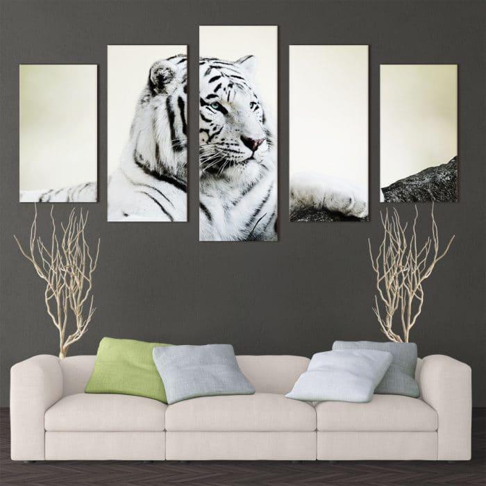 White Tiger - Beautiful Home Décor | Unique Canvas