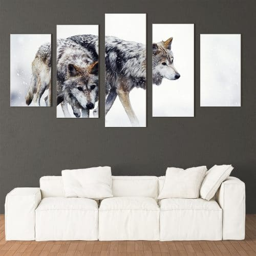Wild Wolves - Beautiful Home Décor | Unique Canvas