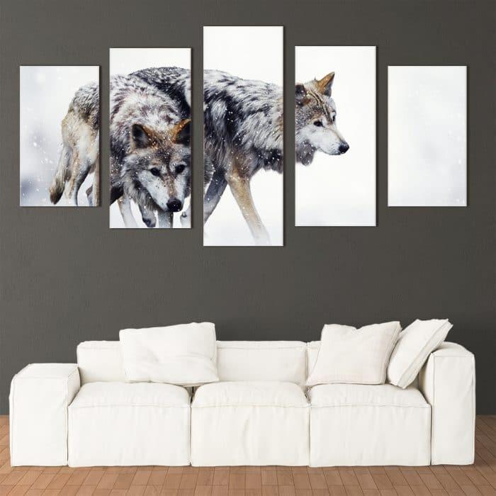 Wild Wolves - Beautiful Home Décor | Unique Canvas