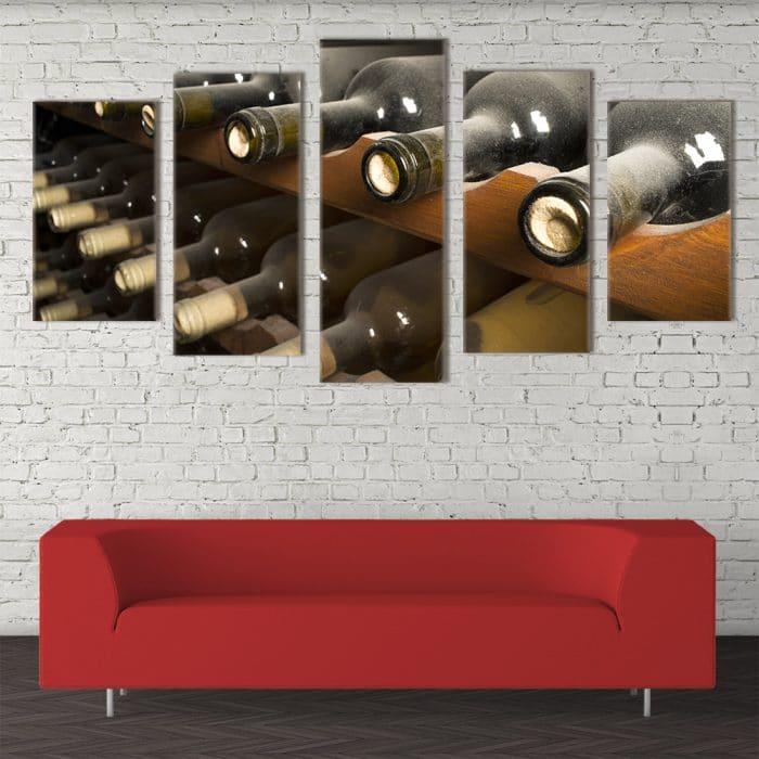 Forgotten Wine Cellar- Beautiful Home Décor | Unique Canvas