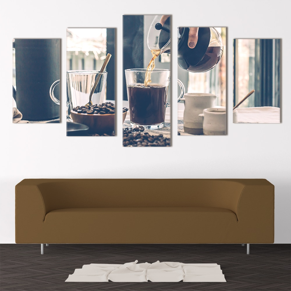 Freshly Brewed Coffee- Beautiful Home Décor | Unique Canvas