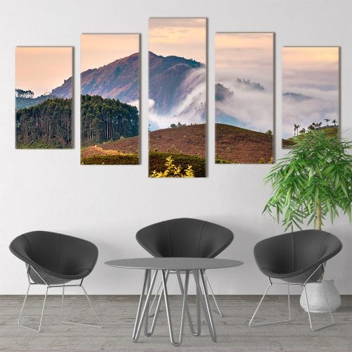 Munnar Tea Trees - Beautiful Home Décor | Unique Canvas