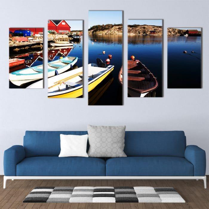Paddle Boats - Beautiful Home Décor | Unique Canvas