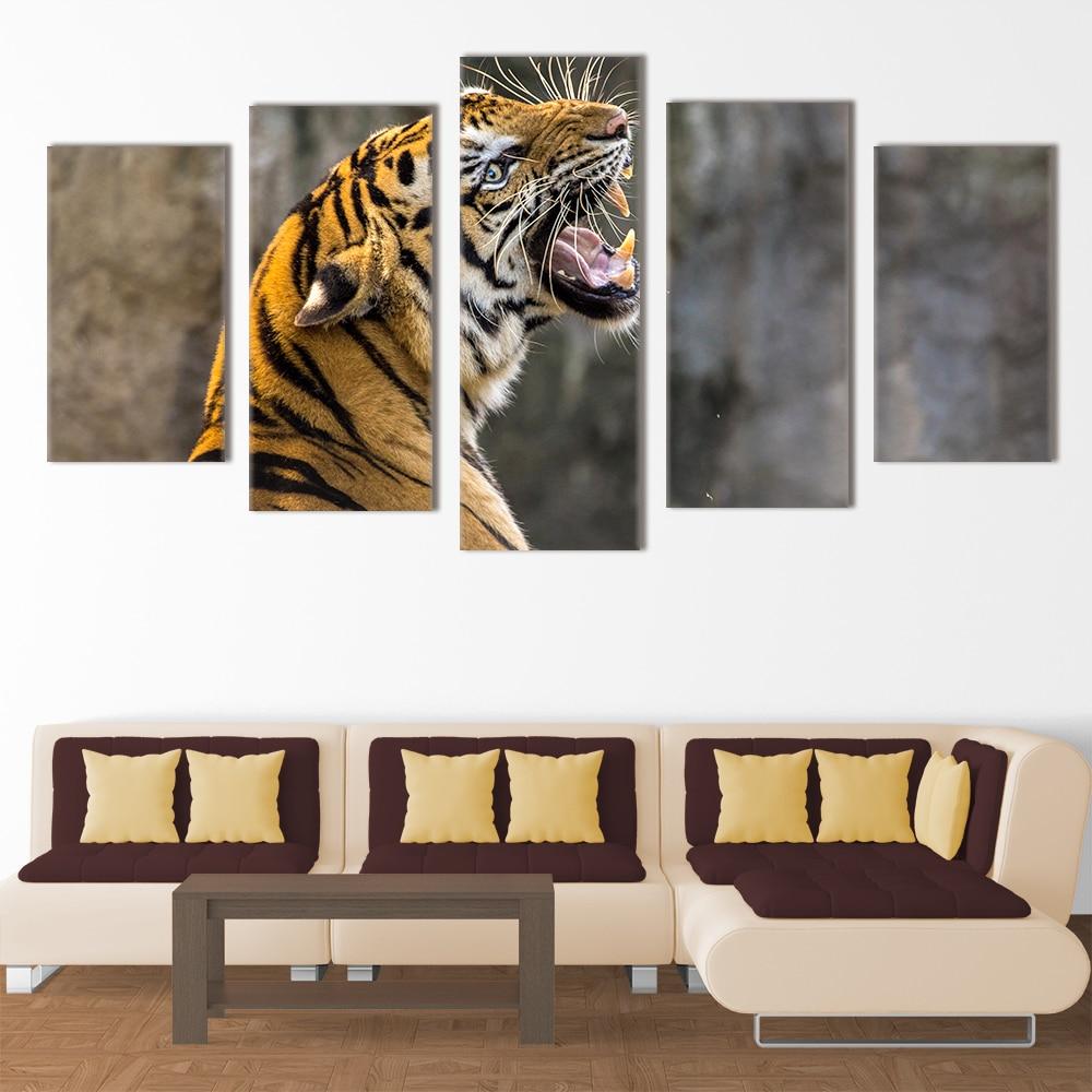 Roaring Tiger - Beautiful Home Décor | Unique Canvas