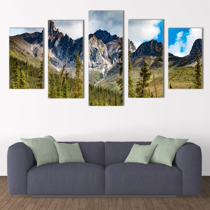 Rocky Mountains - Beautiful Home Décor | Unique Canvas