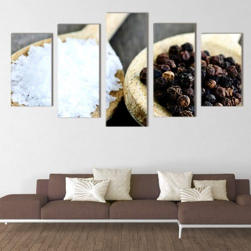Salt and Pepper- Beautiful Home Décor | Unique Canvas