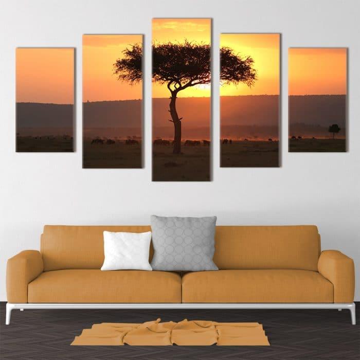 Serengeti Wilderness- Beautiful Home Décor | Unique Canvas