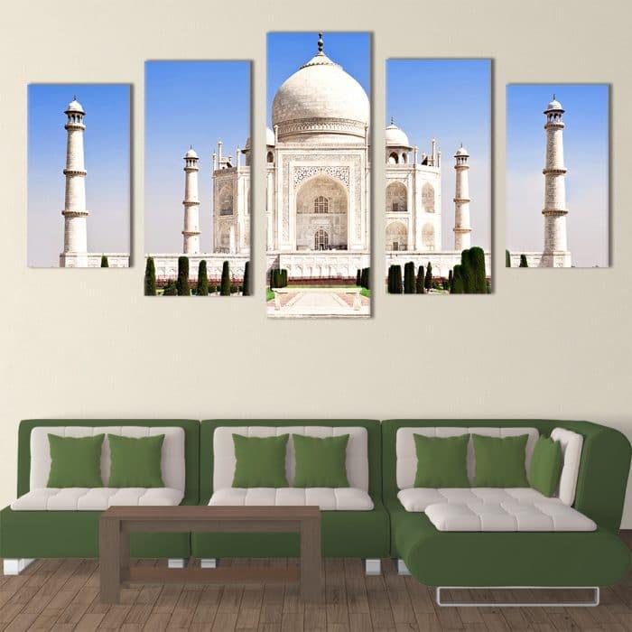 Taj Mahal- Beautiful Home Décor | Unique Canvas