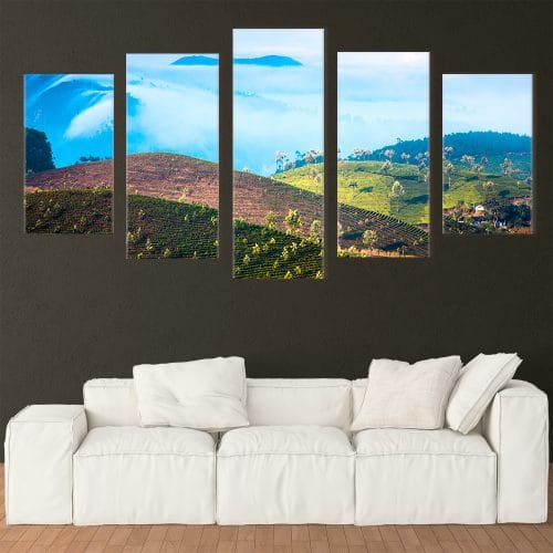 Tea Plantation - Beautiful Home Décor | Unique Canvas