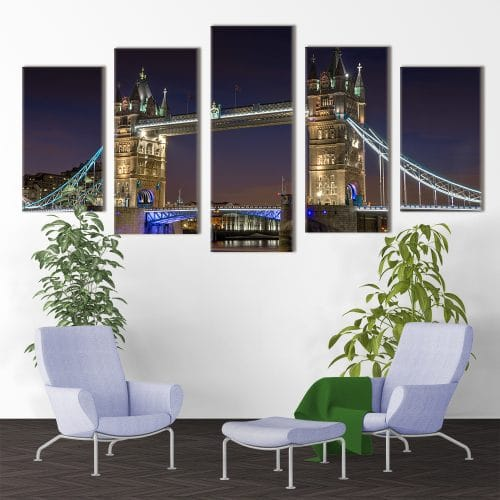 Tower Bridge - Beautiful Home Décor | Unique Canvas
