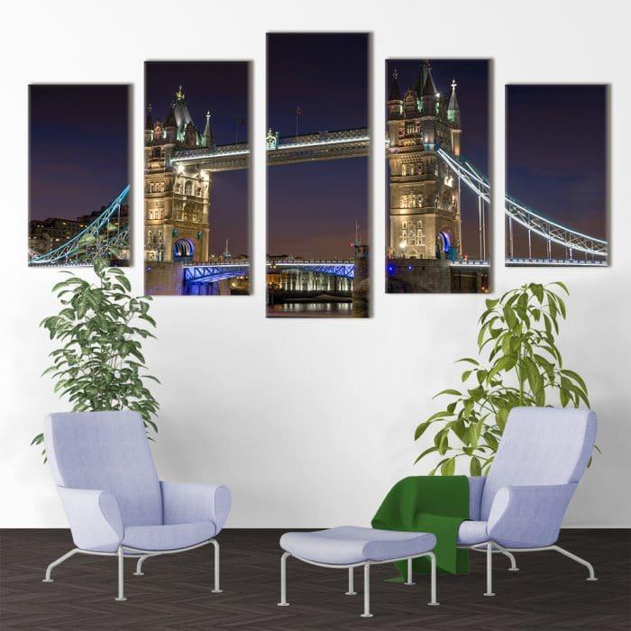 Tower Bridge - Beautiful Home Décor | Unique Canvas