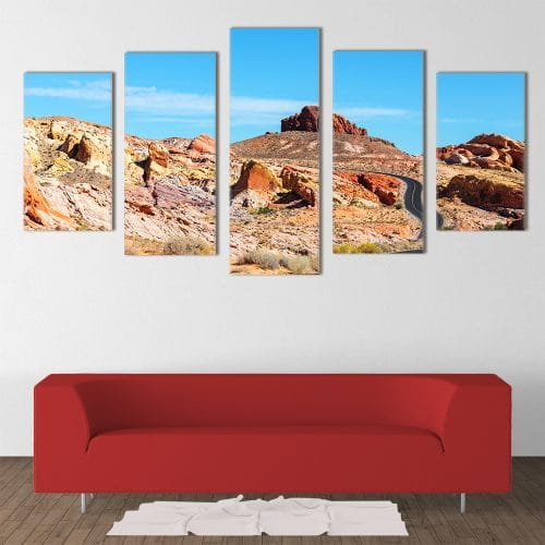 Valley of Fire - Beautiful Home Décor | Unique Canvas