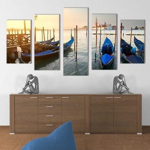 Venezia Gondolas- Beautiful Home Décor | Unique Canvas