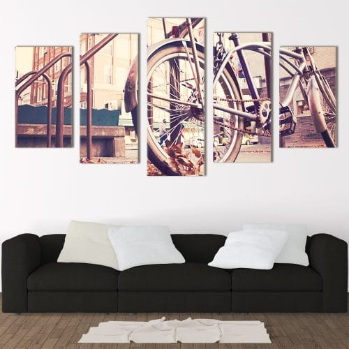 Vintage Bike- Beautiful Home Décor | Unique Canvas