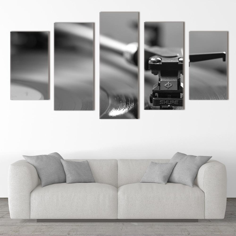 Vinyl Player unique canvas