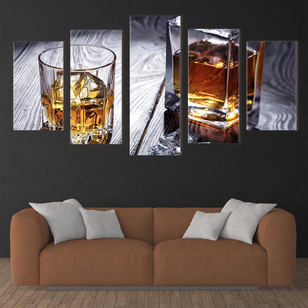 Whisky Decanter- Beautiful Home Décor | Unique Canvas