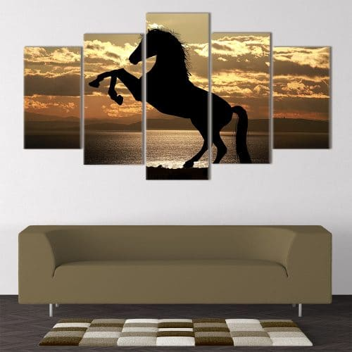 Athletic Horse - Beautiful Home Décor | Unique Canvas
