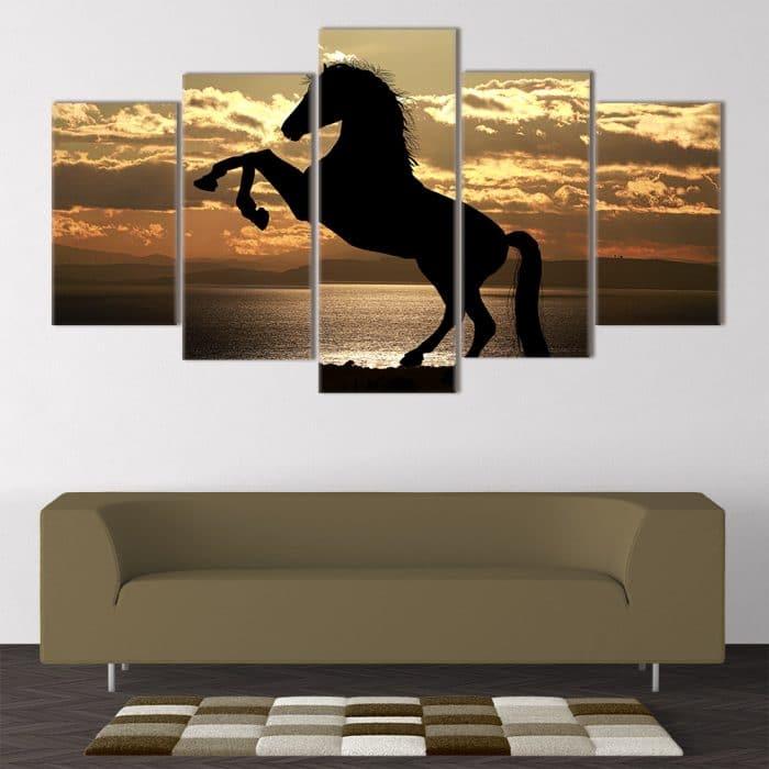 Athletic Horse - Beautiful Home Décor | Unique Canvas