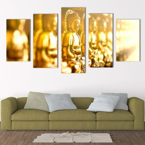 Blur Buddha Religious Art Unique Canvas