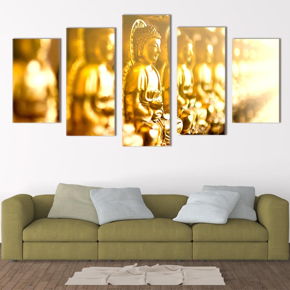 Blur Buddha Religious Art Unique Canvas