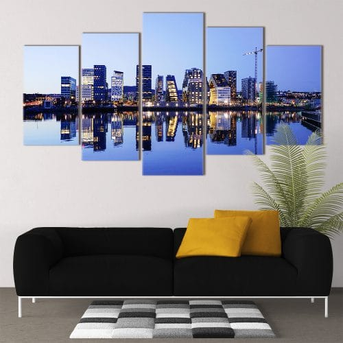 Cityscape - Beautiful Home Décor | Unique Canvas