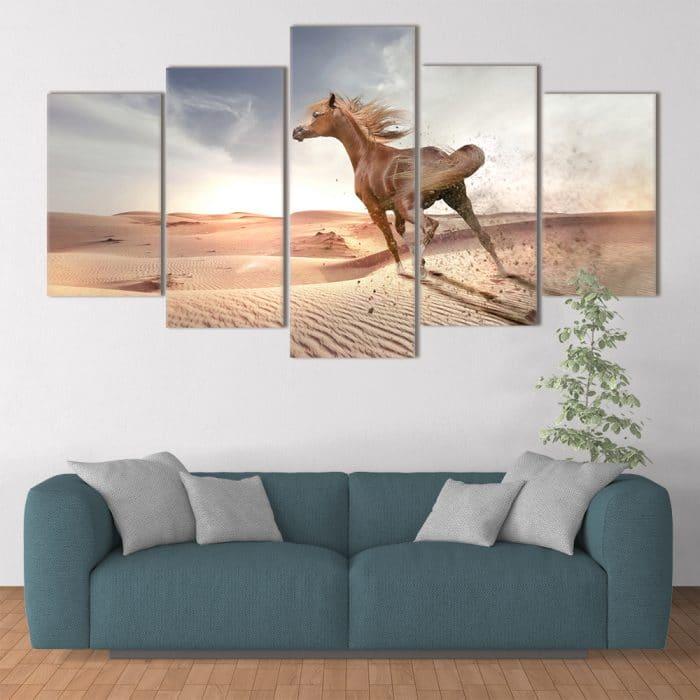 Desert Horse - Beautiful Home Décor | Unique Canvas