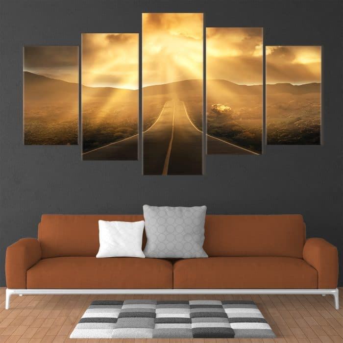 Let The Journey Begin- Beautiful Home Décor | Unique Canvas