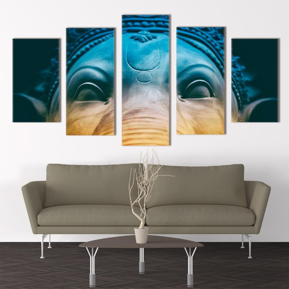 Lord Ganesh- Beautiful Home Décor | Unique Canvas