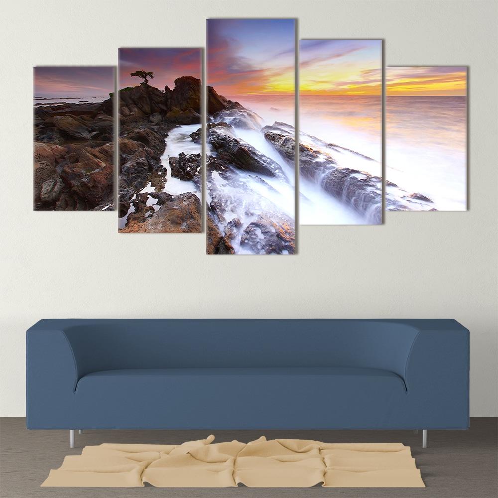 Misty Sea- Beautiful Home Décor | Unique Canvas