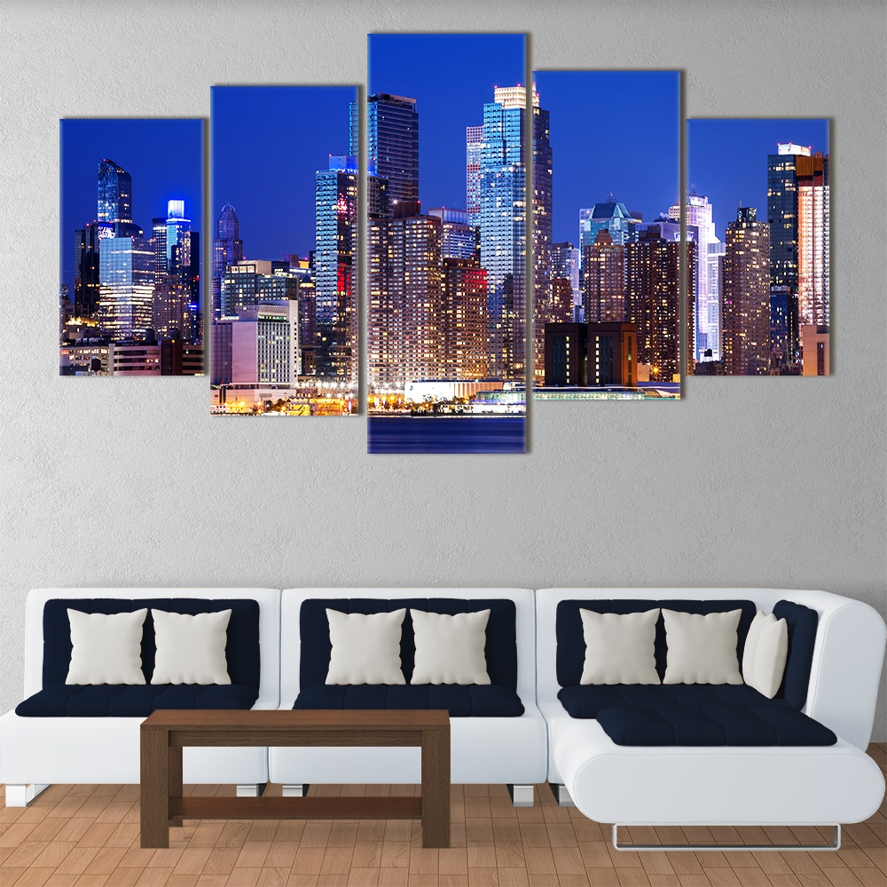NYC by Night - Beautiful Home Décor | Unique Canvas