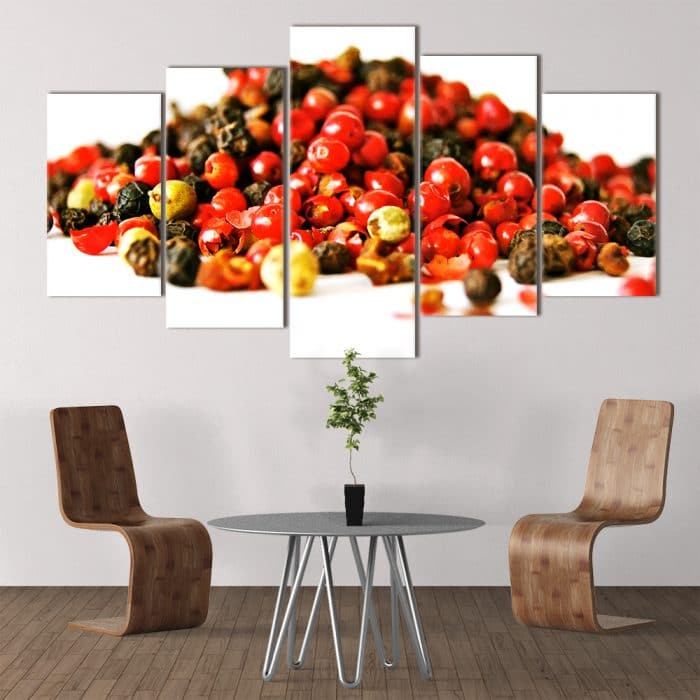 Peppercorn unique canvas